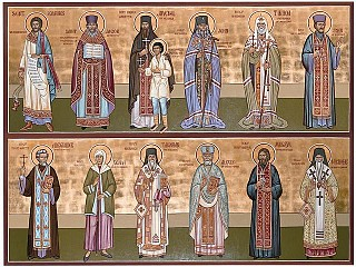The Wall of Saints